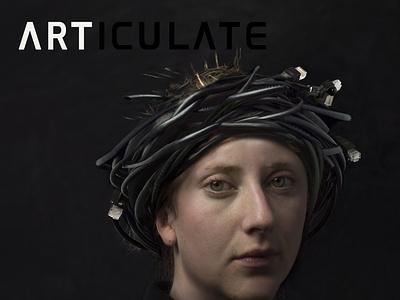 ARTICULATE #18 typography publication design contemporary art art magazine