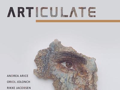 ARTICULATE #21 typography publication design contemporary art art magazine