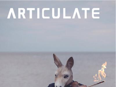 ARTICULATE 22 typography publication design contemporary art art magazine