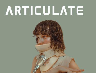 ARTICULATE 23 typography publication design contemporary art art magazine