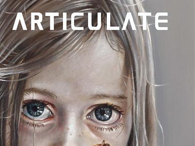 ARTICULATE 24 typography publication design contemporary art art magazine