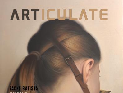 ARTICULATE 26 branding illustration publication design contemporary art art magazine
