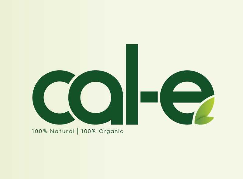 Organic Food Logo Design logo design food logo illustration natural logo organic logo logo