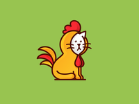 Rooster Cat