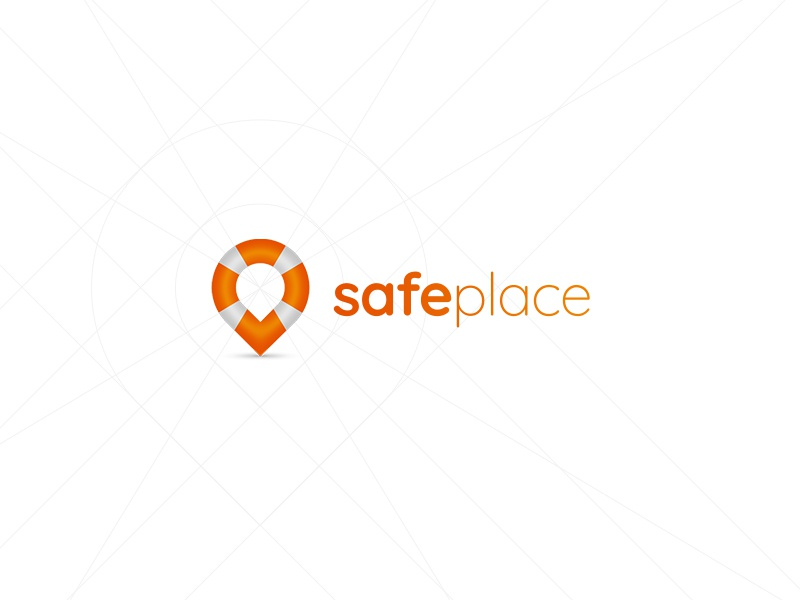 Safe Place 2 ancitis safety ring lifebelt water logo place safe pin