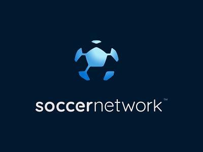 Soccer Network, LLC ancitis activity sports game community net connection football design logo network soccer