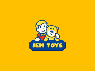 Jem Toys ancitis happy design children kid bear teddy logo toys