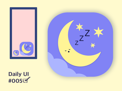 Daily UI 005 app minimal flat ui ux illustration design dailyuichallenge daily ui dailyui daily 100 challenge