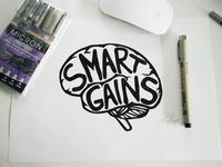 SMARTGAINS Logo Concept
