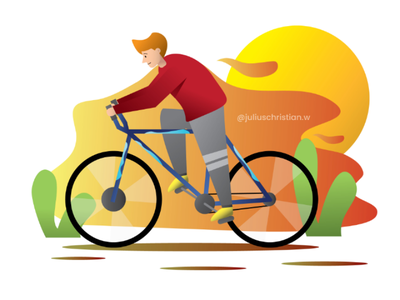 Ride my bike illustrator illustration ui illustration ux ui bike