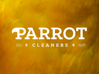 Parrot Cleaners Logo