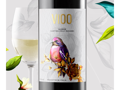 Primitivo Wine Label
