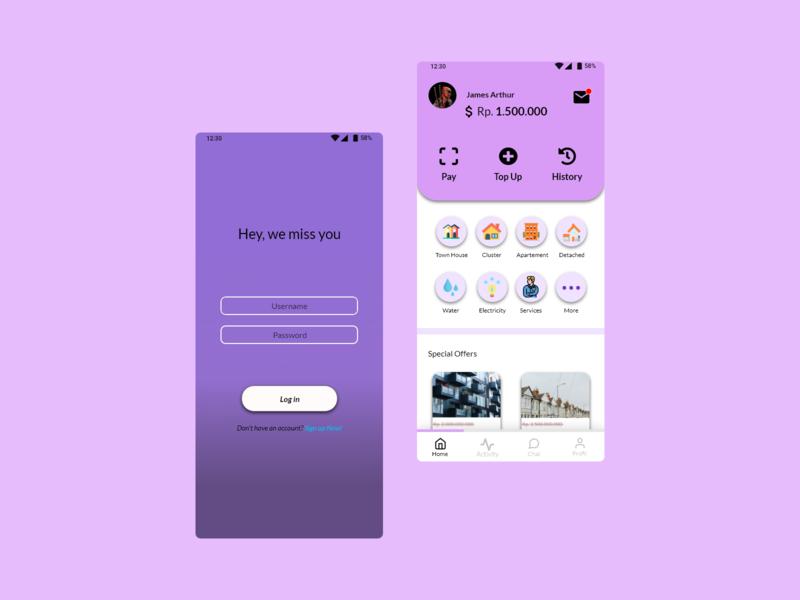 MeTown firstshot mobile app hometown ui
