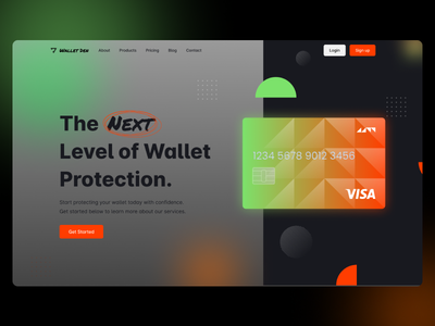 Landing Page - Wallet Protection Site card