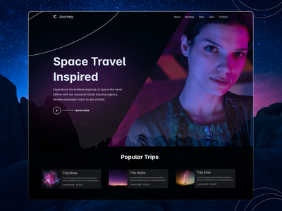 Journey - Space Travel Concept