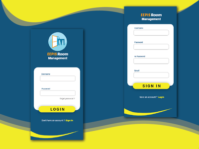 Login And Sign In Page @dailyui