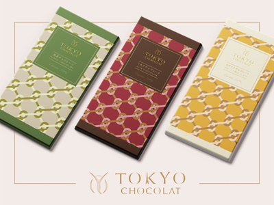 Grpahic Design   TOKYO CHOCOLAT Branding & Package Design japan chocolate packaging package graphic logo branding typography