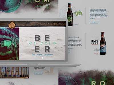 Craft Beer - BrewHub Website