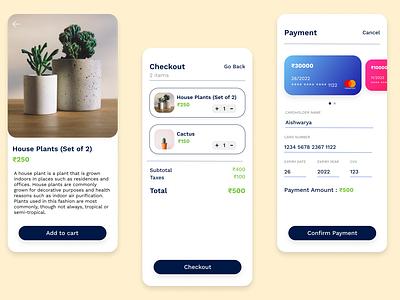 Credit Card Checkout junior 100daychallenge dailyuichallenge 002 dailyui ux ui design app
