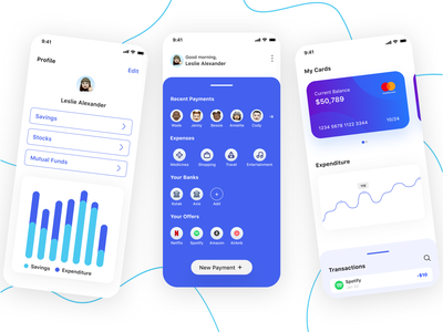 Finance App memoji financial app finance app finance user ux dailyuichallenge dailyui minimal junior app ui design
