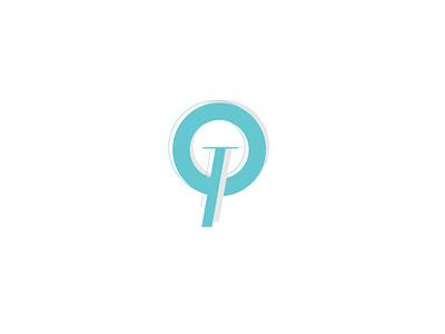 Tiffany Blog typography vector illustrator logo icon flat design
