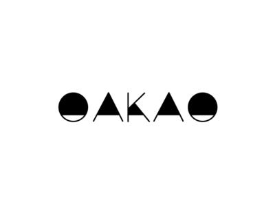 OAKAO vector illustrator logo icon flat design