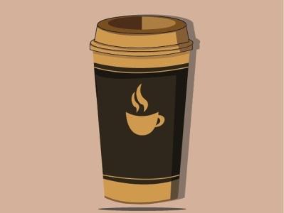 Coffee coffee cup coffee minimal ui flat design art illustration vector illustrator graphic design