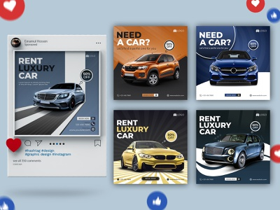 Car Social Media Banner Design social media advertising design social media banner social media poster social media post facebook banner facebook ad automobile banner ads instagram ad instagram banner instagram post banner ad car social media banner rent a car car wash car poster car banner design car banner car