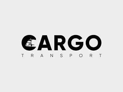 Cargo Transport Negative Space Logo modern logo logotype logo maker logo mark logo design negativespace branding design brand identity branding brand negative space logo negative space transport