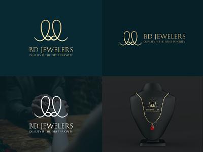 BD Jewelers Logo Design modern logos bd logo logotype logo mark logo design logo maker modern logo signature logo branding design brand design brand identity branding brand jewelry logo jewelery jewellery jewelry bd jewelers