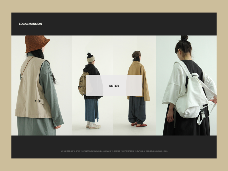 Daily UI :: 003 minimal landing page web design ui daily ui
