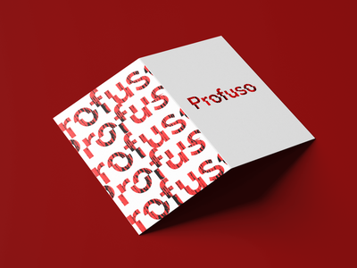 Profuso animation typography design illustration branding