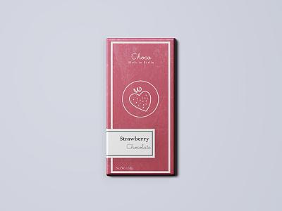 package design chocolate berlin strawberry packagedesign package