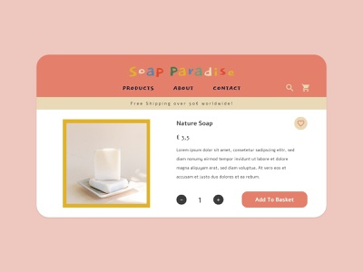 daily ui - ecommerce website (single item) itempage dailyui ecommerce