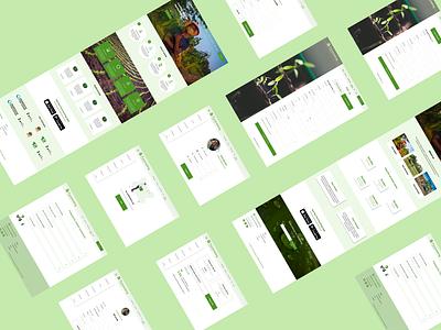 Farmvestng web design ui