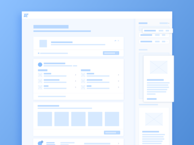 Yotpo Product Layouts placeholder modal component dashboard feed blue sketch wireframe ux layout yotpo product