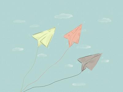 go fly design illustration