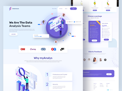 Data Analysis web app product landing page design data analysis dashboad ui design clean ui popular shot website concept website design webdesign homepage interface ui  ux color website web landing page graphic design design