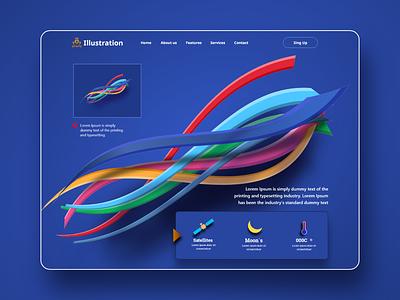 Web site design illustraion design ui design home page website design webdesign interface website landing page graphic design web