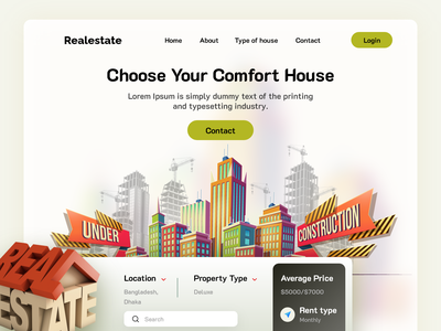 Real Estate Consultation Company Website Visual UI homepage webdesign web website landing page minimalist minimalistic minimal agency landing page property management realestatelife realestate real estate design real estate agency real estate agent real estate