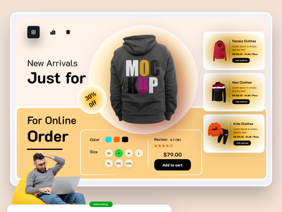 Online ecommerce website header exploration shopify store webdesign website landing page product page mrstudio ecommerce typography fashion clothing store shopping online shopping business sneakers shirt style payment method header