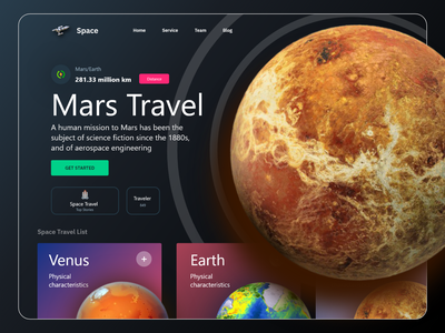 Space info website universe website design web website landing page earth masud mrstudio nasa spaceships nasa stars galaxy space website mars astronaut space space travel planets spaceman rocketship