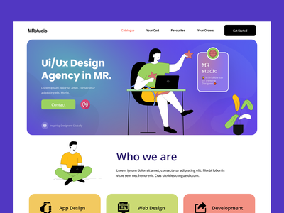ui/ux design agency : website website design landingpage home page landing page web page web web design homepage website landing