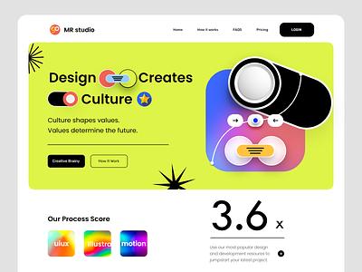 MRstudio Design agency web page landingpage landing design home page webdesign website design web website landing page