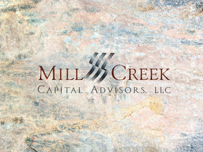 Mill Creek Capital Advisors financial branding branding concept branding agency design logo graphic  design