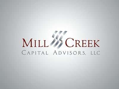 Mill Creek Capital Advisors branding agency financial logo design branding