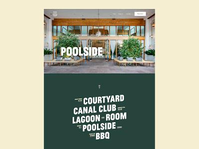 The Scott Resort hotel ux web design design ui