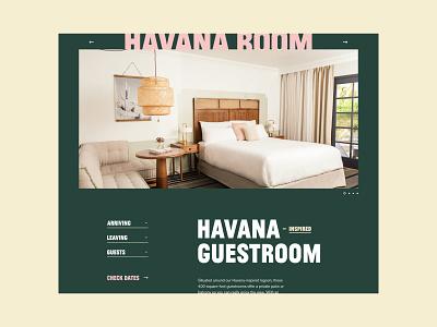 The Scott Resort hotel web design ux design ui