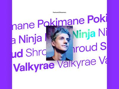 Ninja website web design ux design ui