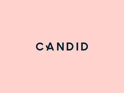 Candid Co logotype animation motion branding logo